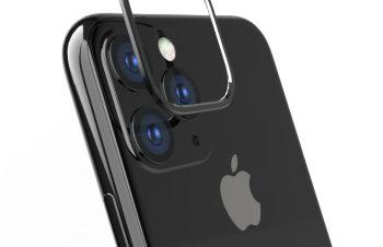 iPhone 11 Pro Max [Lens Bumper] カメラレンズ保護アルミフレーム – ブラック