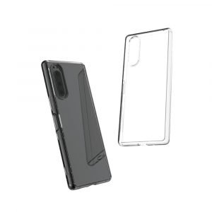 Xperia 5 [Turtle] ハイブリッドケース 埃ガード付き レンズリング 4色セット