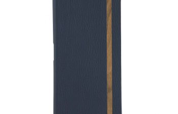 Xperia 5 [FlipNote Light] クラリーノ フリップノートケース – ブルー