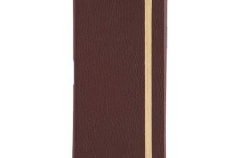 Xperia 5 [FlipNote Light] クラリーノ フリップノートケース – レッド
