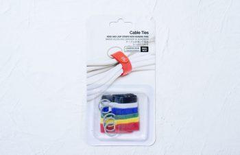 Bluelounge Cable Ties レビュー/巻いたケーブルをリングで引っかけるケーブルタイ、ダイソーでひと工夫。