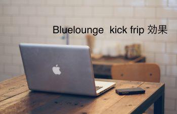 Bluelounge kick flip 効果