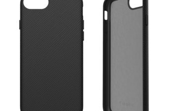 iPhone SE(第2世代)/8/7/6s/6 [NUNO] バックケース – ブラック