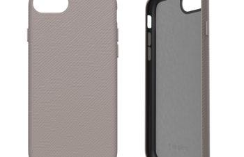 iPhone SE(第2世代)/8/7/6s/6 [NUNO] バックケース – グレー