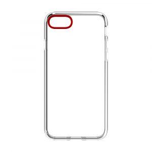 iPhone SE(第2世代)/8/7 [GLASSICA] 背面ガラスケース – レッド