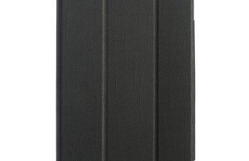 iPad(第8世代) / iPad (第7世代)/ iPad Air(第3世代)/ iPad Pro 10.5インチ  [FlipNote Light] クラリーノ フリップノートケース – ブラック