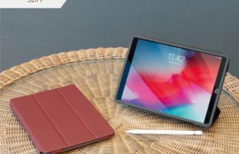 iPad (第7世代)/ iPad Air(第3世代)/ iPad Pro 10.5インチ  [FlipNote Light] クラリーノ フリップノートケース