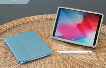 iPad(第8世代) / iPad (第7世代)/ iPad Air(第3世代)/ iPad Pro 10.5インチ  [FlipNote Light] 極薄軽量 サフィアーノ フリップノートケース