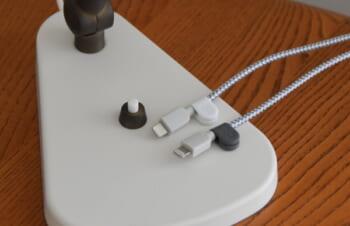 Bluelounge MagDrop◇ケーブルクリップでスッキリ♪はさむだけ取り付け簡単マグネット式