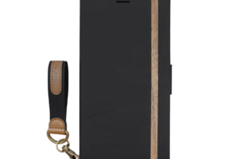 iPhone 12 mini用ケース [FlipNote Smart] 耐衝撃フリップノートケース クラリーノ