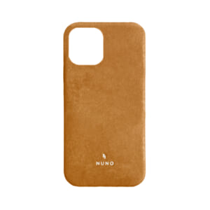 iPhone 12 / iPhone 12 Pro用ケース [NUNO] 本革バックケース – ブラウン