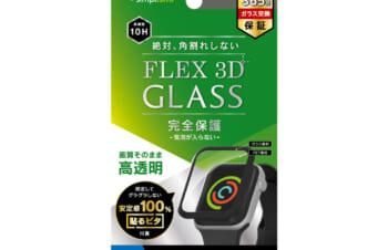 Apple Watch 40mm SE / 6 / 5 / 4 気泡ゼロ[FLEX 3D] 高透明 複合フレームガラス
