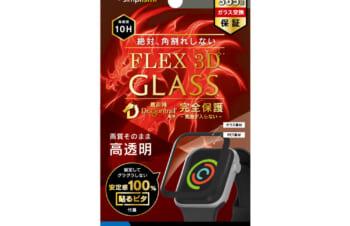 Apple Watch 40mm SE / 6 / 5 / 4 気泡ゼロ[FLEX 3D] Dragontrail 高透明 複合フレームガラス