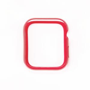 Apple Watch 44mm SE / 6 / 5 / 4 バンパーケース – レッド