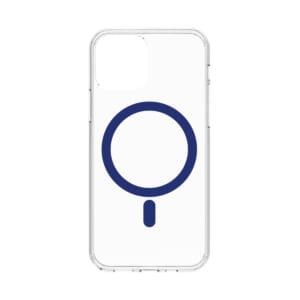 iPhone 12 mini [Turtle] MagSafe対応 ハイブリッドクリアケース – ブルー