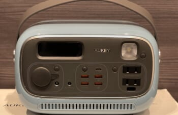 災害時に役立つ、デザインも美しいポータブル電源「Aukey PowerStudio」