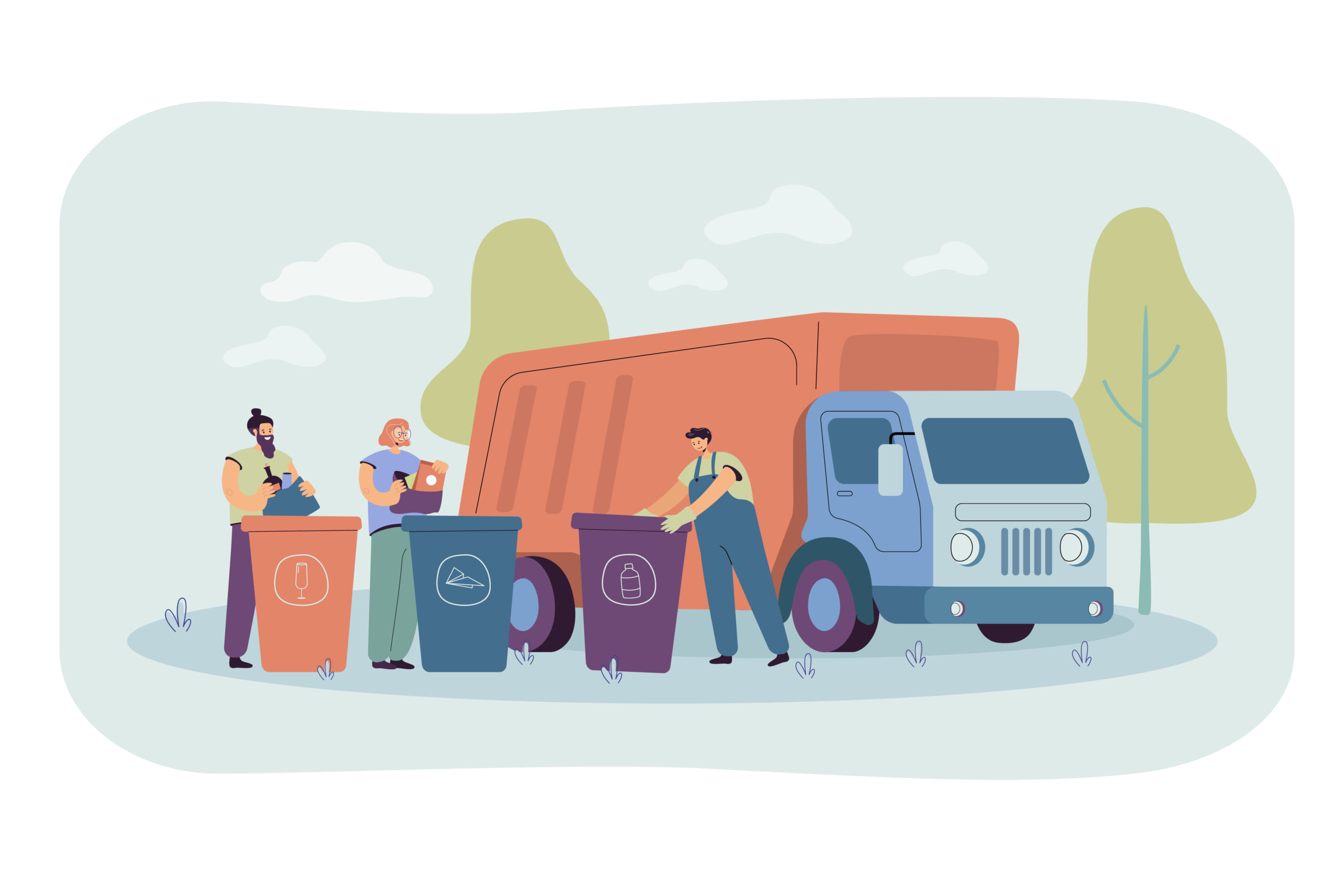 Garbage-truck-arriving-to-take-disposal-containers.jpg