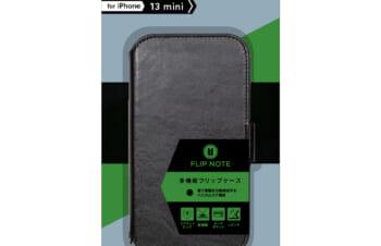 iPhone 13 mini [FlipNote] 耐衝撃フリップノートケース