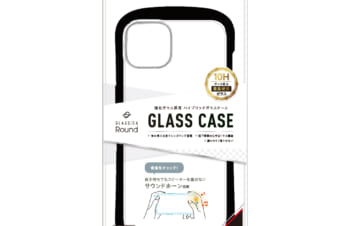 【予約製品】iPhone 13 [GLASSICA Round] 耐衝撃 背面ガラスケース