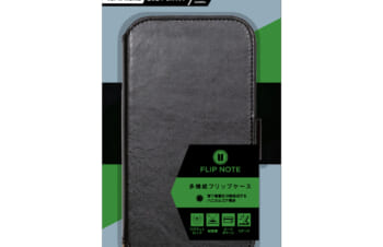 iPhone 13 [FlipNote] 耐衝撃フリップノートケース