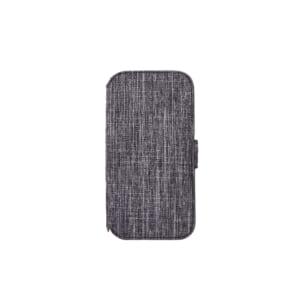 iPhone 13 [FlipNote] 耐衝撃フリップノートケース – グレー