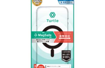 【予約製品】iPhone 13 2眼カメラモデル [Turtle] MagSafe対応 ハイブリッドクリアケース