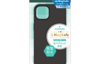 iPhone 13 [Cushion] MagSafe対応 シリコンケース