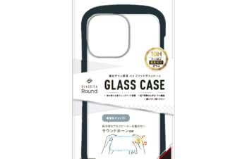 【予約製品】iPhone 13 Pro 3眼カメラモデル [GLASSICA Round] 耐衝撃 背面ガラスケース