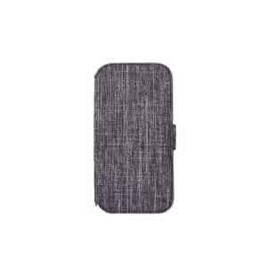 iPhone 13 Pro [FlipNote] 耐衝撃フリップノートケース – グレー