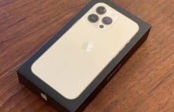 iPhone 13 Pro到着。とりあえず思ったことなど。