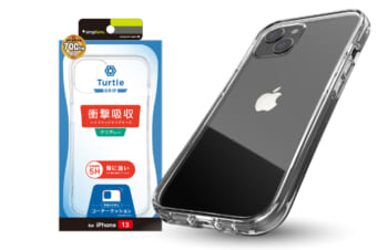 iPhone 13 [Turtle Grip] ハイブリッドケース